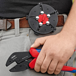 MultiCrimp - Crimping Pliers with changer magazine